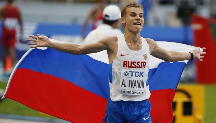 Krievu soļotājs Ivanovs par dopinga lietošanu zaudēs pasaules čempiona titulu