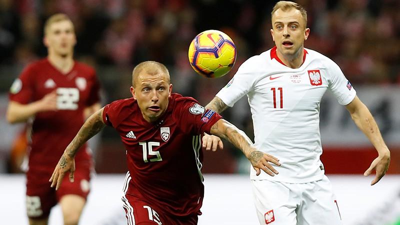 Teksta tiešraide: Polija - Latvija 2:0 (spēle galā)
