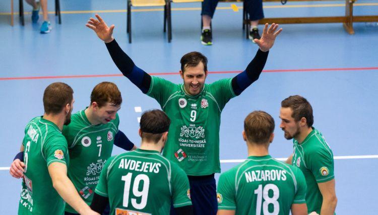 """RTU/Robežsardze """"nokausē"""" """"Jēkabpils Lūšus"""" un atspēlējas no 0:2"""