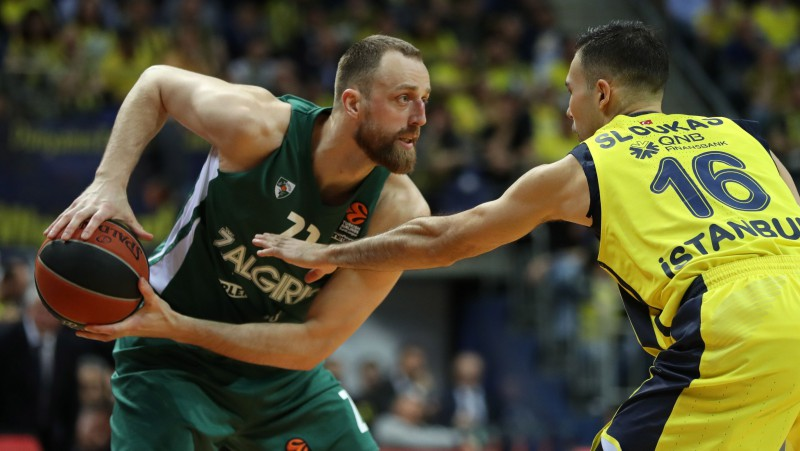 """Milaknis turpinās """"Žalgirī"""", Žižičs tuvu pārejai no """"Cavaliers"""" uz """"Maccabi"""""""