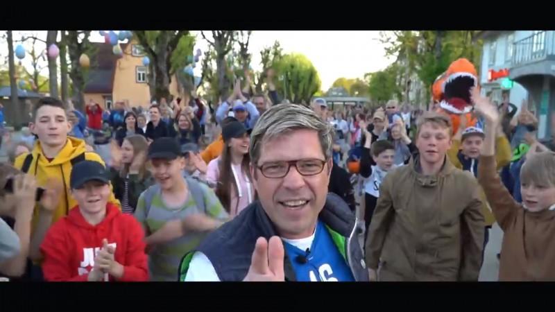 """""""Ogres"""" fani sagatavo īpašu atbalsta video pirms sērijas par LBL bronzu"""