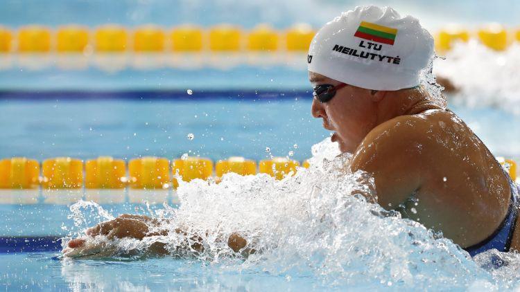 Lietuvas peldēšanas zvaigznei Meilutītei draud 1-2 gadu diskvalifikācija