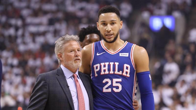 """76ers"" paturēs darbā galveno treneri Braunu"
