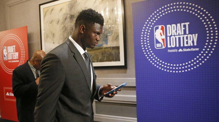 """NBA drafta pirmo izvēli iegūst Daira Bertāna pārstāvētā """"Pelicans"""""""