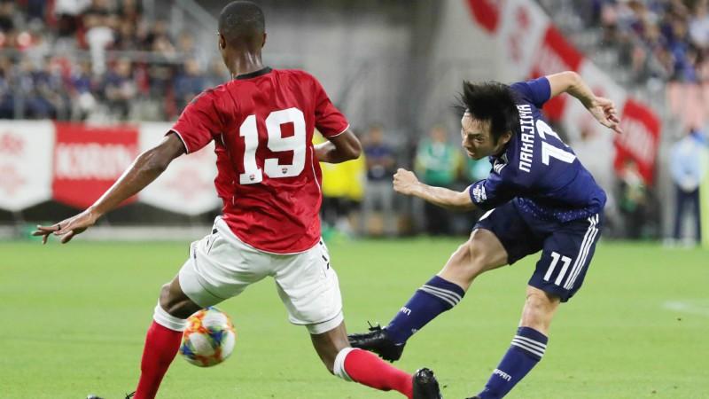 """Japāna gatavošanos """"Copa America"""" sāk ar neizšķirtu pret Trinidādu un Tobāgo"""
