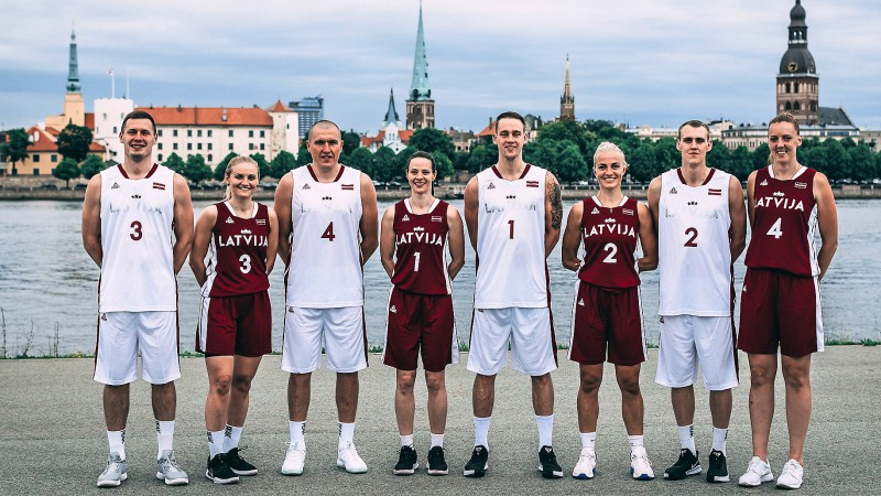 Latvijas 3x3 basketbola izlases 18. jūnijā startēs Pasaules kausa finālturnīrā Amsterdamā
