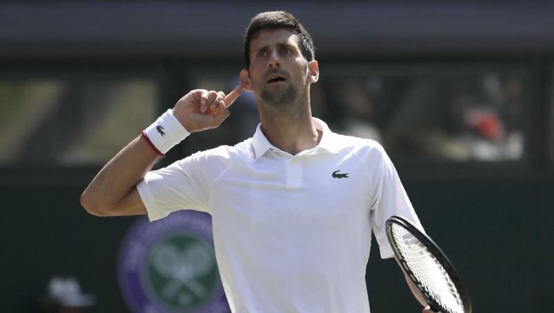 """Džokovičam sestais fināls Vimbldonā un 25. """"Grand Slam"""" līmenī"""