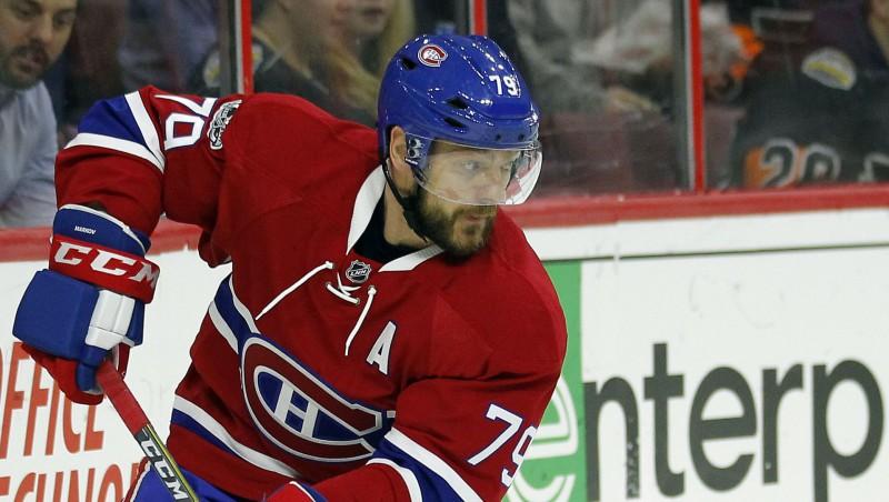 """Markovs vēlas iespēju kopā ar """"Canadiens"""" aizvadīt 1000. spēli NHL"""