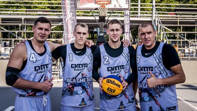 """Rīgas """"Ghetto"""" izstājas Rīgas posma 1/4 finālā, turnīrā triumfē amerikāņi"""