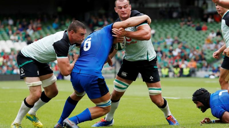 Īrija pirmajā pārbaudes spēlē pieveic Itāliju
