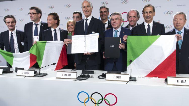 Brīdina par risku, ka Itālija varētu zaudēt tiesības rīkot 2026. gada olimpiskās spēles