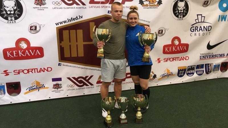 Suharevs un Koha uzvar Latvijas čempionātā atsevišķos vingrinājumos