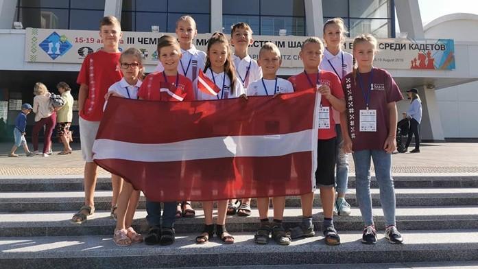 Kuzņecova veiksmīgākā no Latvijas arī pasaules čempionātā kadetiem ātrajā šahā un ātrspēlē