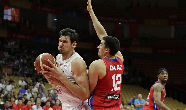 Serbijai viegla pastaiga arī pret Puertoriko un ceturtā uzvara