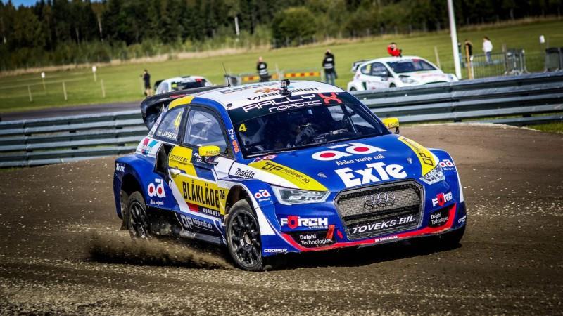 Larsons īstā drāmā kļūst par ''RallyX Nordic'' čempionu