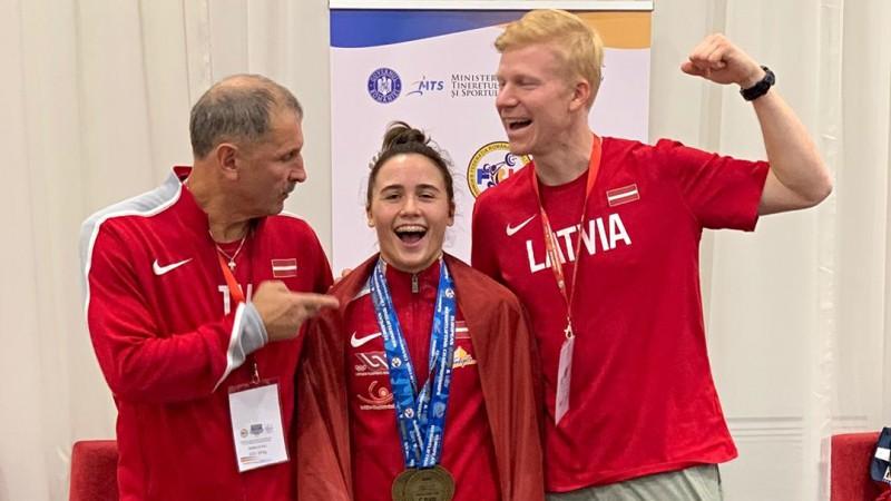 Koha pārliecinoši triumfē U23 Eiropas čempionātā
