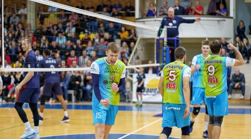"""Jēkabpils """"Lūši"""" uzvar RTU/""""Robežsardze"""" un piektajā spēlē pēc kārtas iegūst vismaz punktu"""