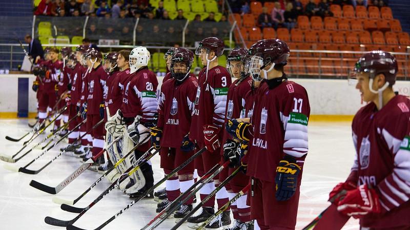 Latvijas jaunatnes izlasēm viena uzvara un divi zaudējumi pagarinājumā