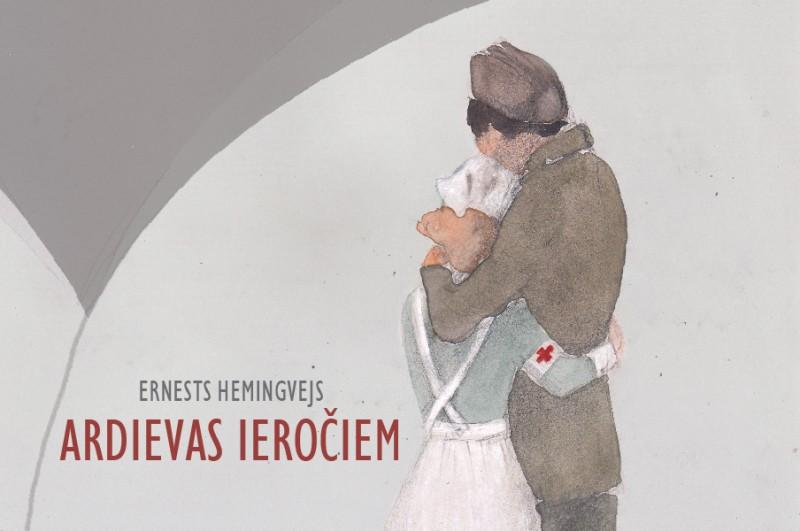 """Valmieras teātrī pirmizrāde Hemingveja romānam """"Ardievas ieročiem"""" Vara Braslas režijā"""