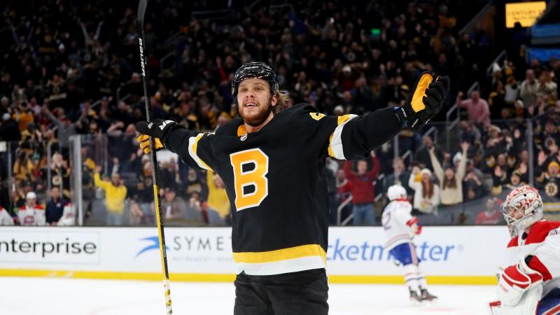 """""""Bruins"""" pirmās maiņas uzbrucējiem Maršānam un Pastrņākam veiktas operācijas"""