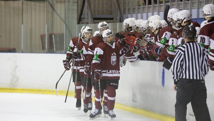 Latvijas U16 un U18 izlasēm uzvaras pārbaudes spēlēs