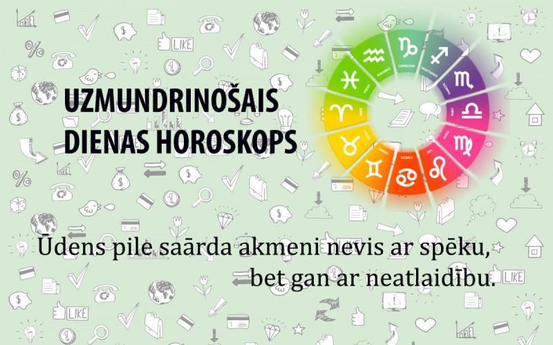 Uzmundrinošie horoskopi 8. janvārim