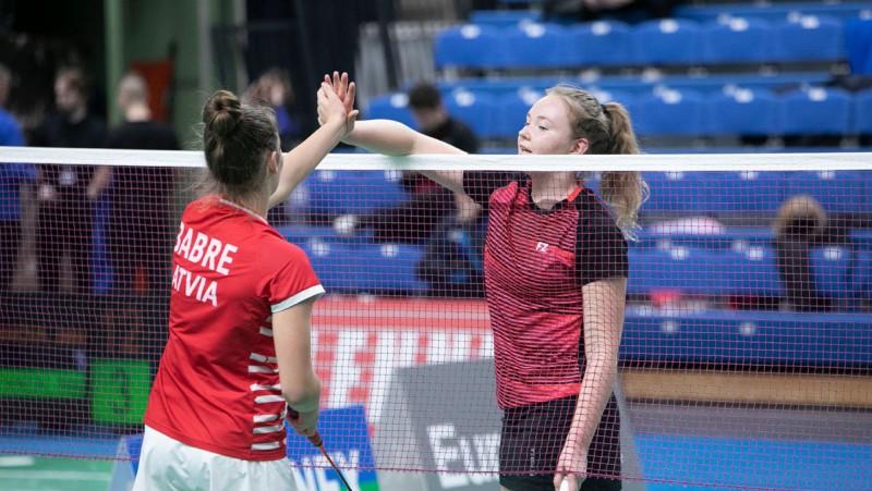 Sezonas pirmajā Pasaules reitinga turnīrā badmintonā arī desmit Latvijas spēlētāji