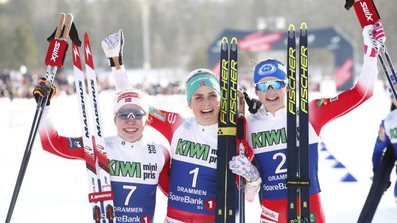 Kronēti jaunie Norvēģijas čempioni, Veitam maratons uz slēpēm