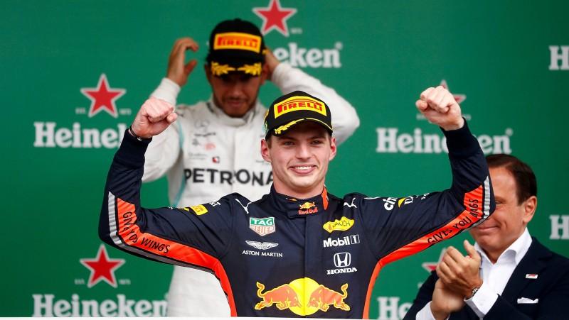 """Verstapens: """"Šūmaheram debija F1 būs grūtāka nekā man"""""""