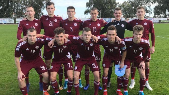 U19 valstsvienībai Kiprā bezvārtu neizšķirts pret Slovākiju