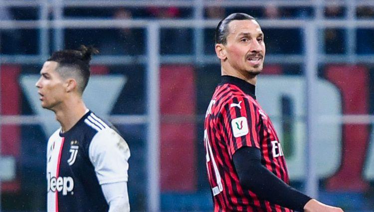 """Ronaldu ar pendeli pašās beigās izglābj """"Juventus"""" no zaudējuma pret """"Milan"""""""