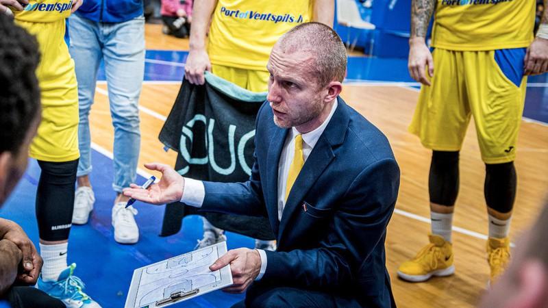 """""""Ventspils Brīvosta"""" piešķir finansējumu basketbola klubam līdz jūnija beigām"""