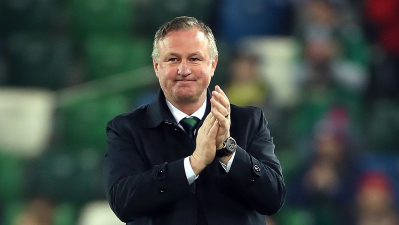 Pirms Eiropas čempionāta kvalifikācijas play-off O'Nīls pamet Ziemeļīrijas izlasi