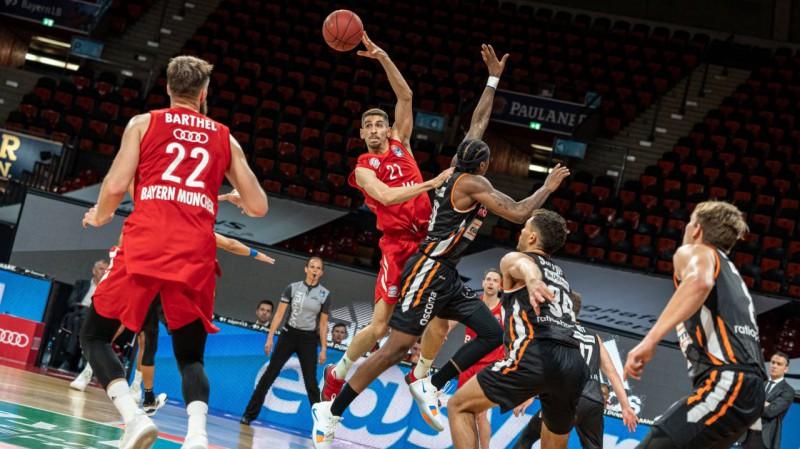"Basketbols atgriežas ar ""Bayern"" zaudējumu Lakoviča vadītajai Ulmai"