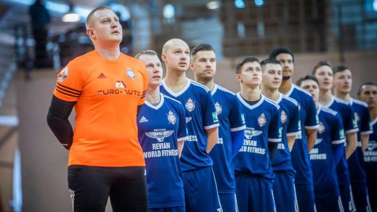 """Sporta sacensības Latvijā atsākas ar """"Raba"""" uzvaru Virslīgas pusfinālspēlē"""