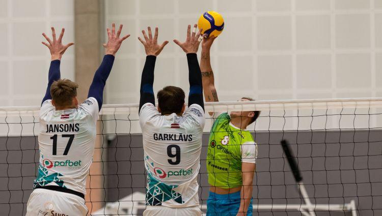 Latvijas volejbola klubiem šonedēļ sezonas pirmās spēles Igaunijā