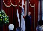 Foto: Latvijas olimpieši ciemojas pie Valsts prezidenta