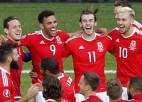 Video: Velsas komanda vētraini svin Anglijas izslēgšanu