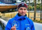 Skeletonists Veinbergs izcīna sudrabu Jaunatnes olimpiskajās spēlēs