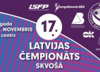 Nedēļas nogalē gada nozīmīgākais skvoša turnīrs Latvijā