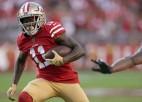 """""""Super Bowl"""" spēlējusī """"49ers"""" aizmaina divus uzbrukuma spēlētājus"""