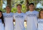 Visi četri Latvijas dueti tiek U22 Eiropas čempionāta astotdaļfinālā