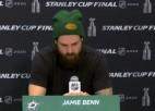 Video: Stenlija kausa fināla zaudētāju kapteinis preses konferencē ilgi klusē