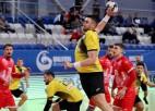Ukraina un Krievija uz sporta skatuves satiekas ar neizšķirtu EČ kvalifikācijā handbolā