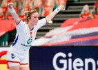 Norvēģijai un Krievijai otrās uzvaras, pasaules čempionēm zaudējums EČ handbolā