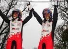 Sebastjans Ožjē kļūst par septiņkārtējo WRC čempionu, Sesks - JWRC vicečempions
