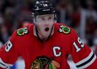 """""""Blackhawks"""" kapteinis Teivzs šosezon nespēlēs, bet varētu atgriezties nākamsezon"""