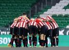 """Bilbao <i>pendelēs</i> pieveic """"Betis"""", turpinot dalību divos Karaļa kausos vienlaicīgi"""