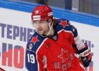 """Video: KHL labākajā momentā """"armijnieki"""" saplosa Rīgas """"Dinamo"""" aizsardzību"""