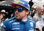 Alonso negadījumā lauzis žokli